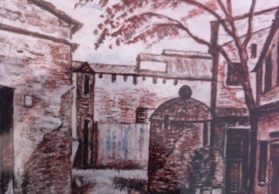Angolo/scorcio di Agliana: piazzetta con pozzo antico