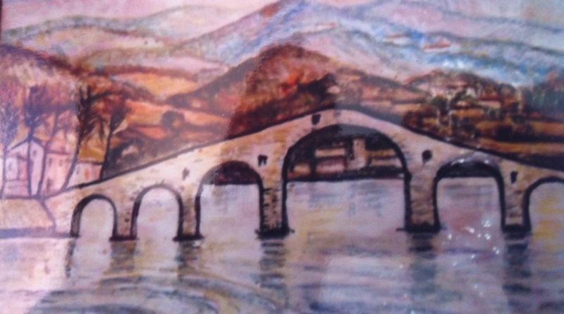 Ponte della Maddalena del diavolo sopra Lucca