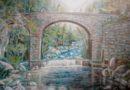 Ponte sul Torrente Limentra, case Morotti presso i Casoni